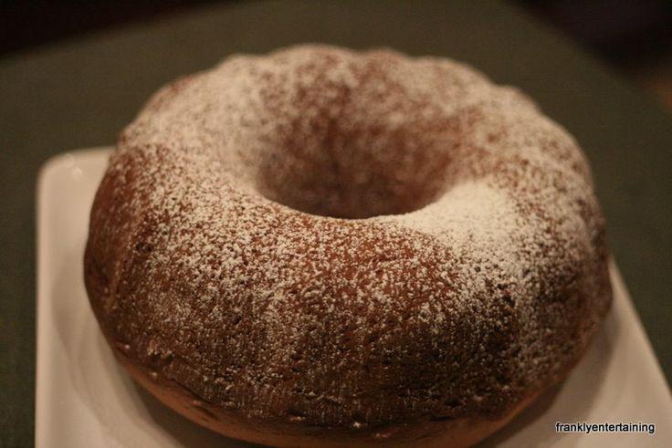 Egg nog pound cake | Frankly Entertaining | Pinterest