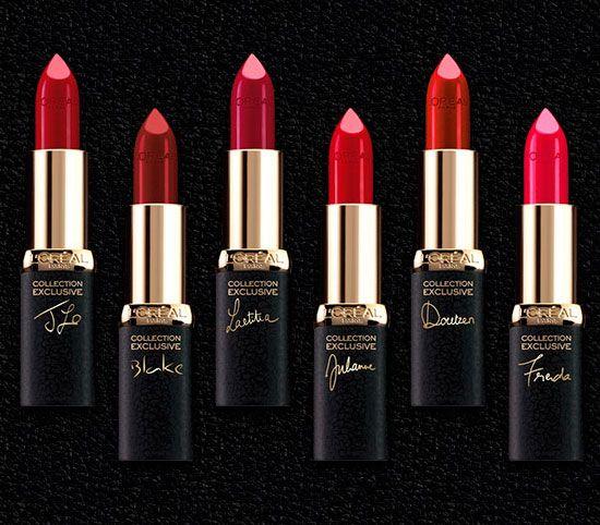 Nueva colección de pintalabios L'Oreal... Labios color vino!