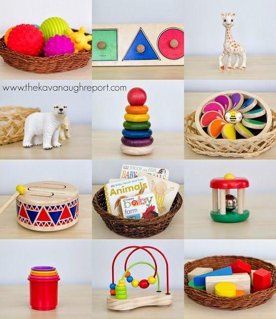 Der Kavanaugh Bericht: Montessori Baby – Baby Spielzeug 6 bis 10 m