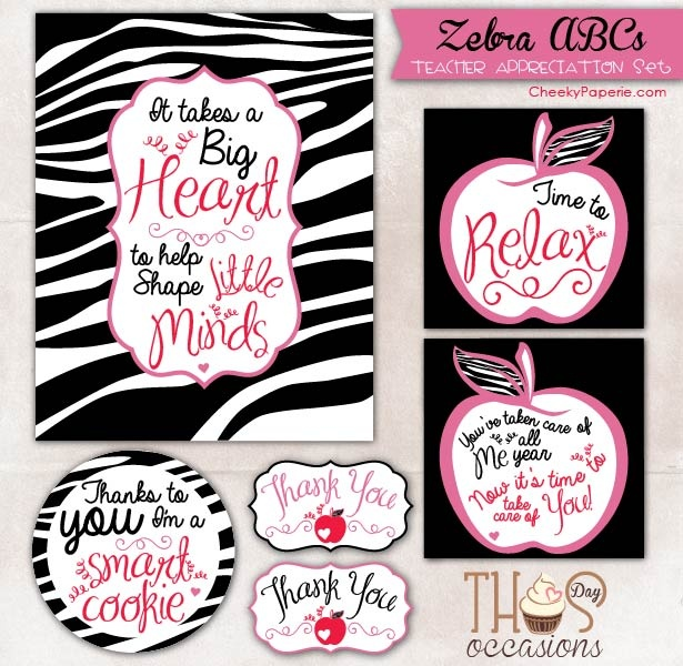 12 best certificates of appreciation for teacher s images on show your childs teachers some appreciation for all their hard work throughout the school year with cheeky paperies zebra abcs cards yelopaper Images