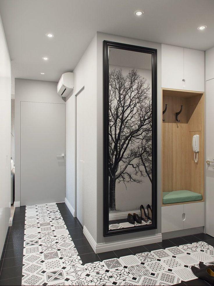 Hogyan hozd ki a legtöbbet 28m2-ből - mini lakás külön konyhával, hálófülkével, szép fürdőszobával