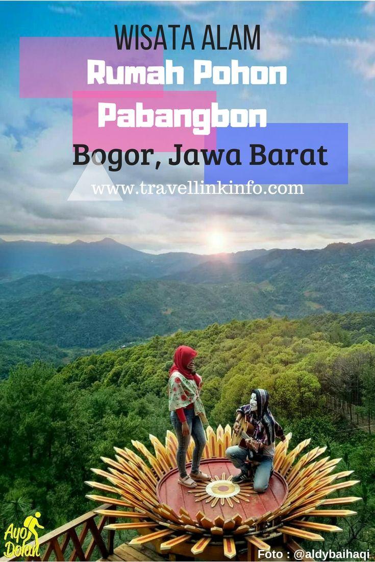 Wisata Alam Rumah Pohon Pabangbon Wisata Alam Rumah Pohon Pabangbon Bogor Menyajikan Pemandangan Alam Kabupaten Bogor Dari Ketin Pohon Rumah Pohon Pemandangan