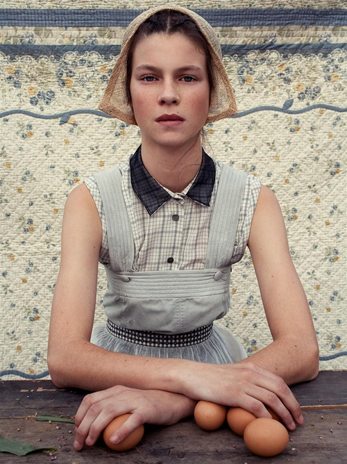 """Living Green"" by Steven Meisel for Vogue Italia"
