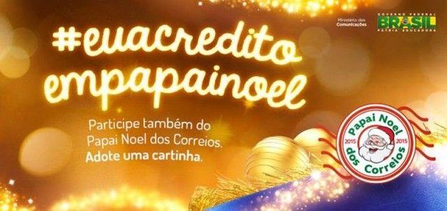 Começa nesta sexta-feira a campanha Papai Noel dos Correios