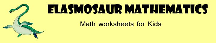 """Lots of printable math worksheets.  """"Refresh"""" for a new worksheet!"""