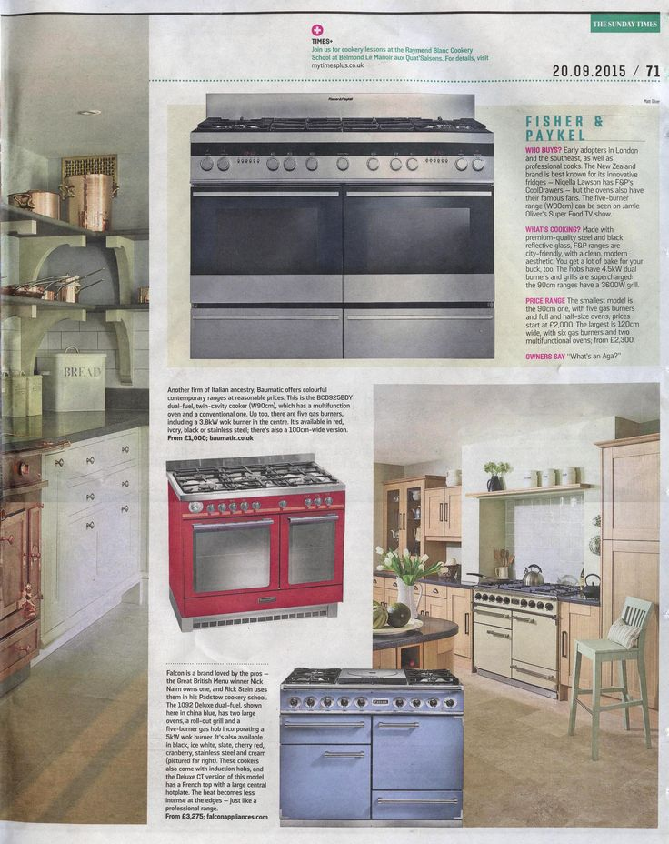 327 best La Cornue in the press images on Pinterest | Range cooker ...