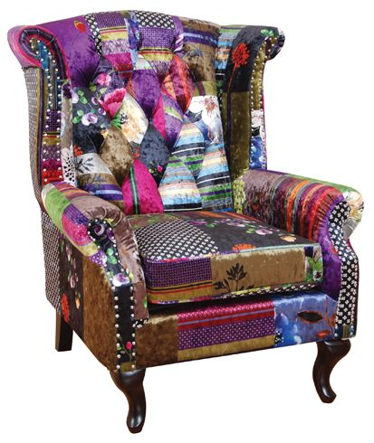 Harlequin Wing Chair