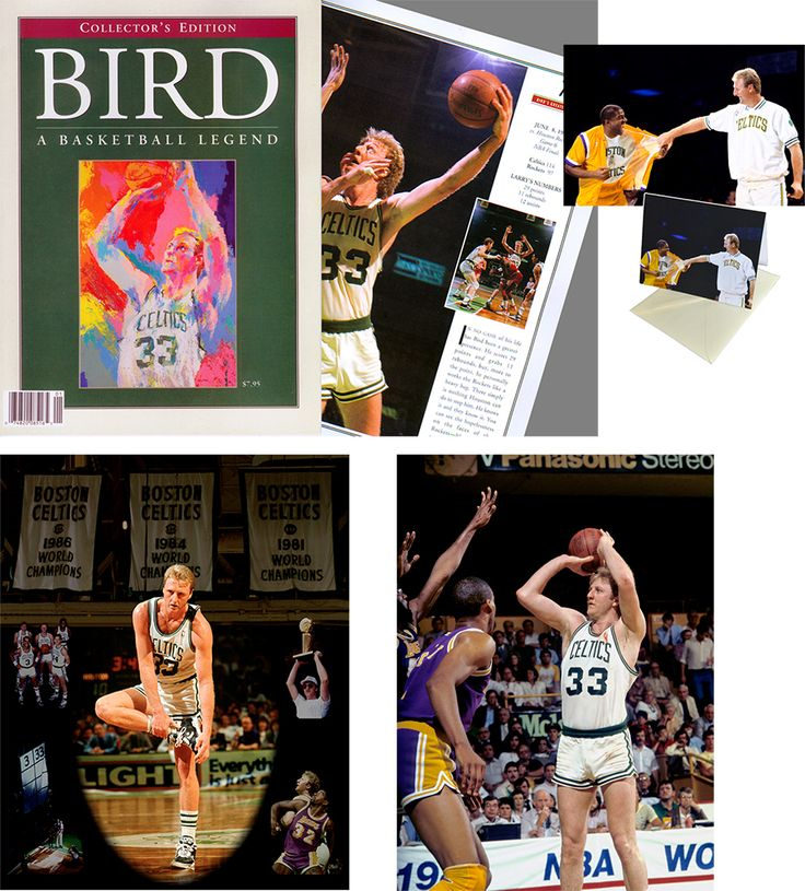 Larry Bird Holiday Gift Special A 60 Value For 24 99 Http Www Basketballphoto Com Htm 20files Larry Bird Gift Larry Bird Basketball Legends Bird Gifts