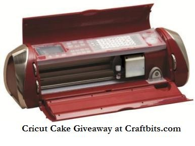 Cricut Cake Giveaway at Craftbits.com! Enter now!