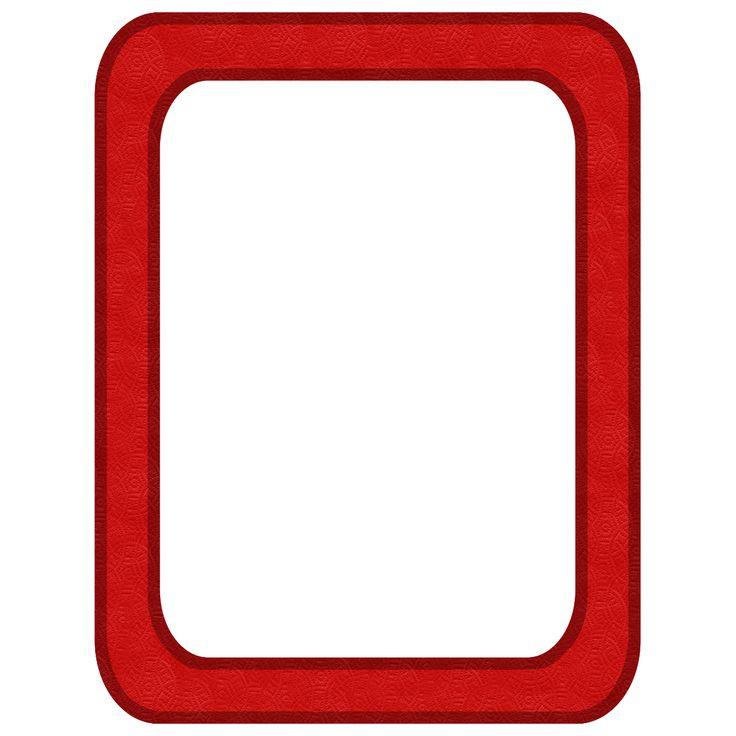 Red Frames Png Kit 26 Red Frame Ge Png 1200 215 1200