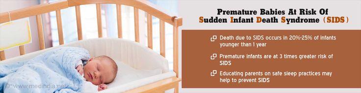 Health Tip on Risk of Sudden Infant Death Syndrome (SIDS) in Premature Infants