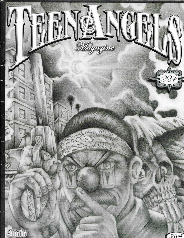 Angel magazine teen chicano prison art consider