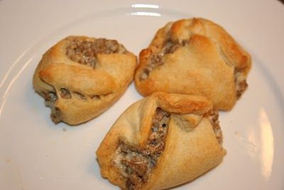 Sausage Cream Cheese Crescent- great for an appetizer or breakfast!