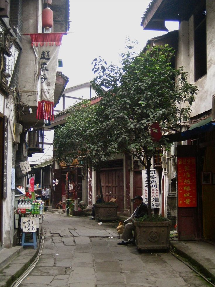 Ciqikou Old Town, Chongqing, China, tourism, travel, photograph, old man, alley, houses