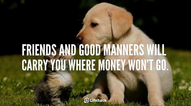 30sec Tip: Real Friends and Good Manners