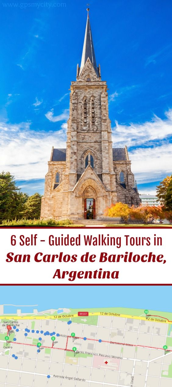 Follow these 6 expert designed self-guided walking tours in San Carlos de Bariloche, Argentina to explore the city on foot at your own pace. Each walk comes with a detailed tour map and together they are the perfect San Carlos de Bariloche city guide for your trip.