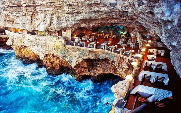 lugares grotta palazzese ristorante bari puglia