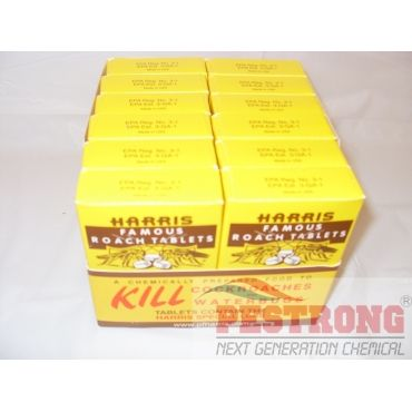 Harris Famous Roach Tablets Boric Acid Insecticide - 2 oz