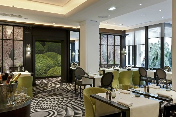 Lobby At 5 Star Hotel Sofitel Paris Le Faubourg This Hotels Address Is 15 Rue Boissy DAnglas Champs Elyses 75008 And Have 147 Rooms