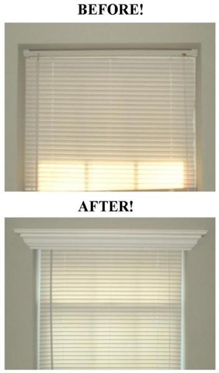 Bathroom window blinds - 18 Easy Small Remodeling Diy Projects For Big Changes In Your Home
