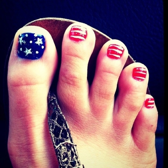 Stars & Stripes Piggies