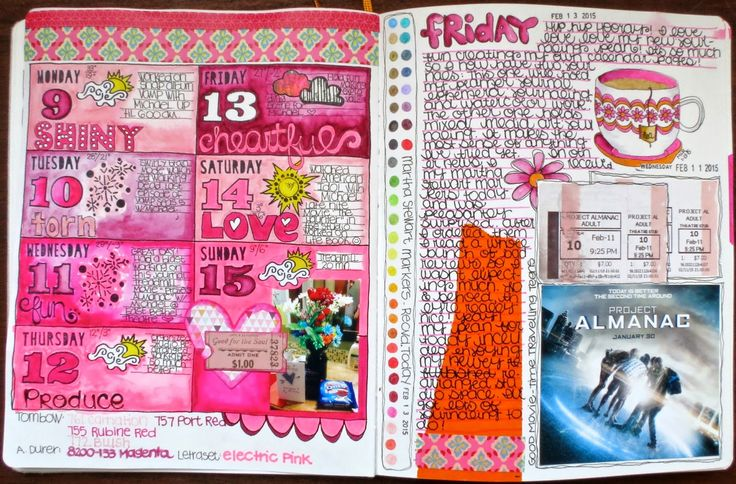 Inspiration Everywhere: No Excuses Planner Journal Update...