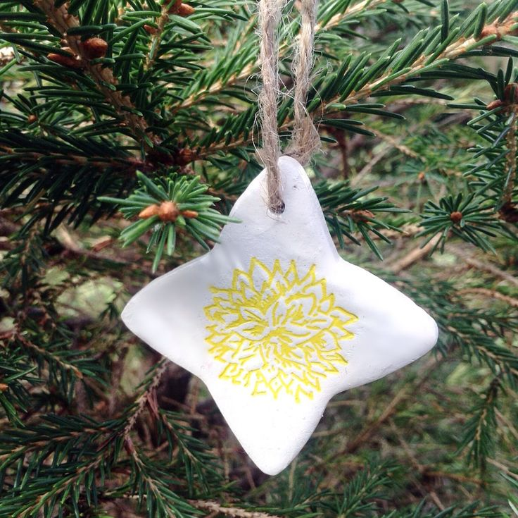 Yellow Flower Decoration, Christmas Decoration, other colours available by…
