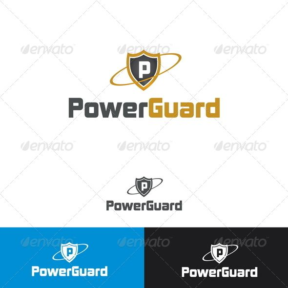 Power Guard Logo Template — Photoshop PSD #capital #emblem • Available here → https://graphicriver.net/item/power-guard-logo-template/2433030?ref=pxcr