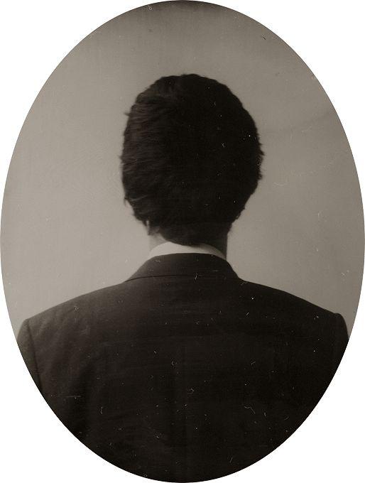 'Reverse Portrait' series Ghosting - Ben Cauchi 2004