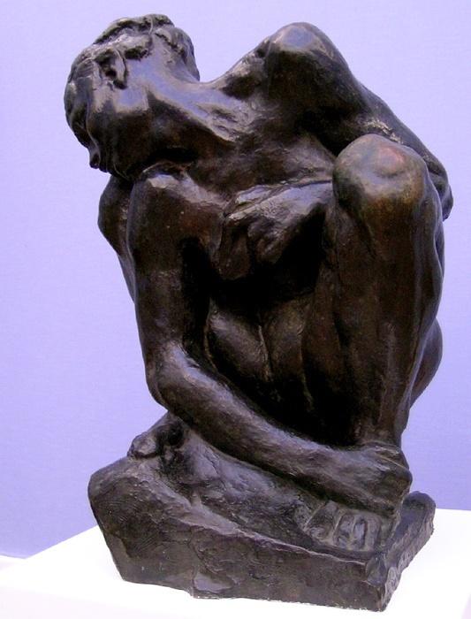 Camille Claudel (A. Rodin, Femme Accroupie)