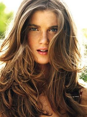 .Hair Ideas, Beach Waves, Hair Colors, Summer Hair, Long Hair, Lights Brown Hair, Layered Hair, Hair Looks, Beach Hair