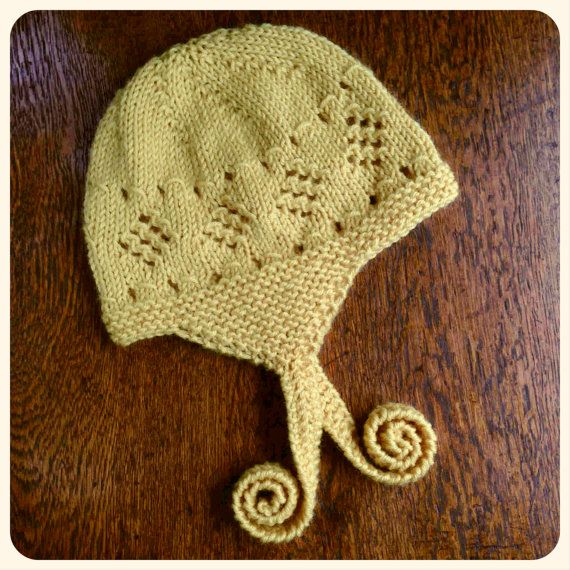 Miel Hat Knitting Pattern by SharaMade. Available in sizes Newborn to 5yrs :-)
