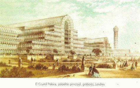 Arq, XIX, Paxton, Joseph, Crystal Palace, exterior, Londres