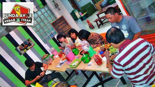 Kedai Bunda Ayoe Kebab & Steak, Jl. Nogososro No. 51 Tlogosari Semarang. #KedaiBundaAyoe #KulinerSemarang