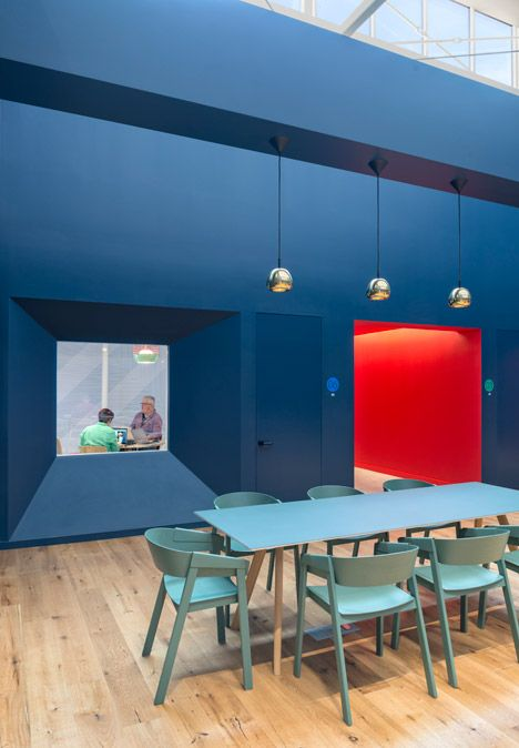 For the meeting area by BDCS - being able to see into studio