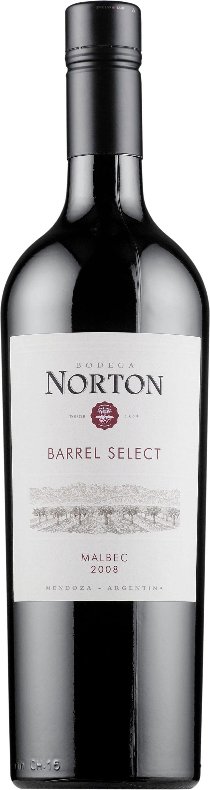 Norton Barrel Select Malbec 2015. Argentina: Malbec. 10,39 €. Mehevä ja hilloinen: Täyteläinen, keskitanniininen, tumman kirsikkainen, kypsän karpaloinen, mausteinen, kevyen tamminen