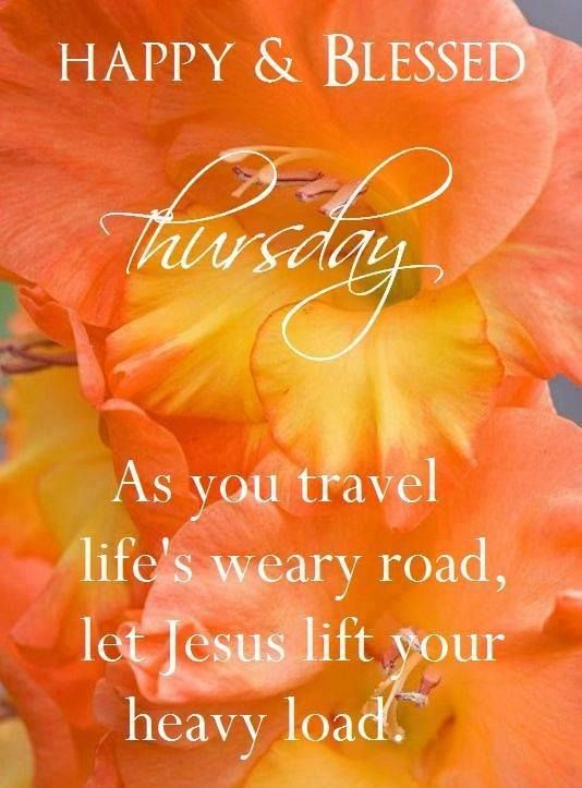 Have a happy and blessed Thursday! ❤️