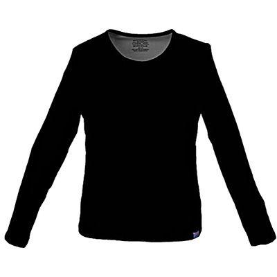Cherokee Workwear Womens Round Neck Long Sleeve T-Shirt   Meijer.com