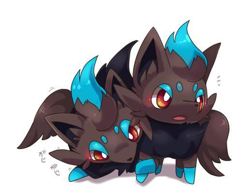 SHINEY POKEMON | zorua # pokemon # shiny pokemon