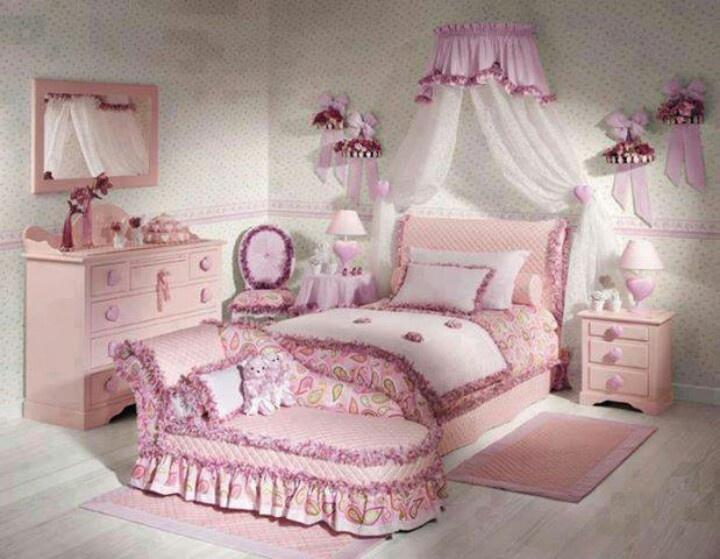 Mooie slaapkamer voor de meiden  Mooi wonen  Pinterest