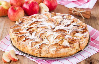 pay de manzana con costra de cereal Alpen