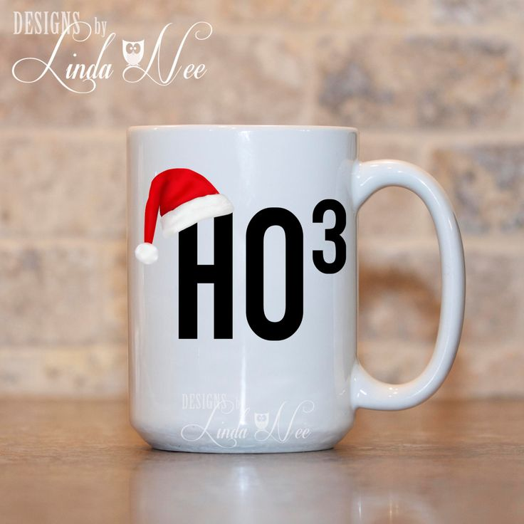 HO HO Ho Christmas Mug, Funny Christmas Coffee MUG, Funny Christmas Gift, Funny Sassy Hot Chocolate Mug, Funny Geek Christmas Mug, Nerd MHO6   ♥ AVAILABLE SIZES 15 oz 11 oz   ♥ ABOUT OUR MUGS ♥ All designs are personally created by me and exclusive to DesignsbyLindaNee ♥♥♥♥♥ http://etsy.me/1O2ftEU ♥♥♥♥♥ and DesignsbyLindaNeeToo ♥ Each mug is custom imprinted in our studio in Henniker, New Hampshire, using professional materials and processes ♥ Only top quality mugs and sublimation inks are…