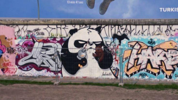 Carte postale de BERLIN ! | Mur de berlin, Berlin