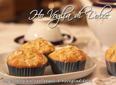 Muffin alle mele e cannella, ricetta sofficissima   Ho Voglia di Dolce