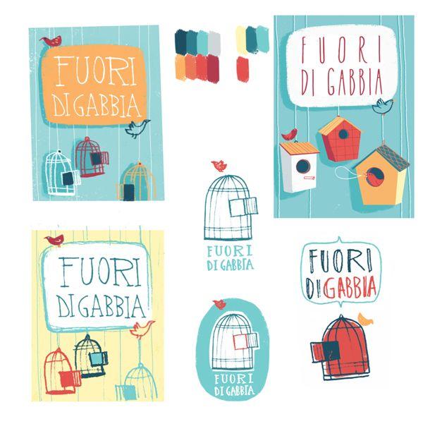Fuori di gabbia by Susanna Rumiz, via Behance