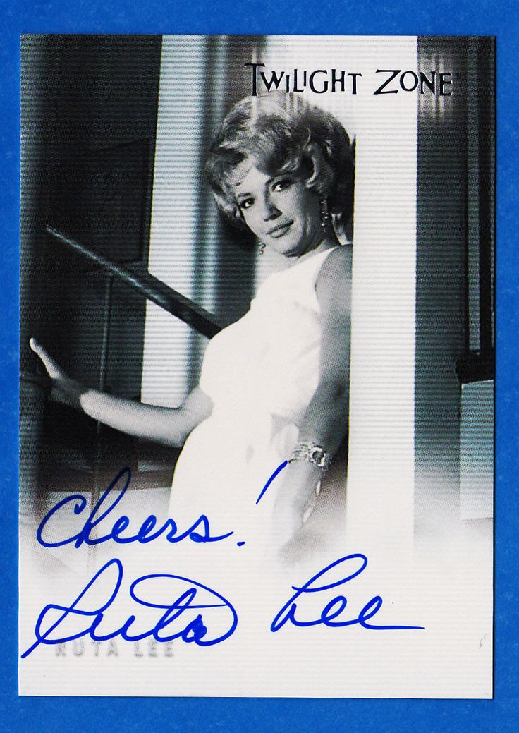 Ruta Lee as Flora Twilight Zone TWZ Series 1 Autograph Card A19 Binder Exclusive | eBay