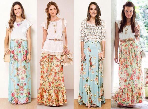 Flowery Skirts
