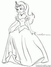 Imagini pentru young Princess coloring pages