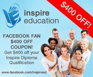 Get your $200 off coupon @ https://www.facebook.com/inspireed  Or visit Inspire Education's website @ http://www.inspireeducation.net.au/