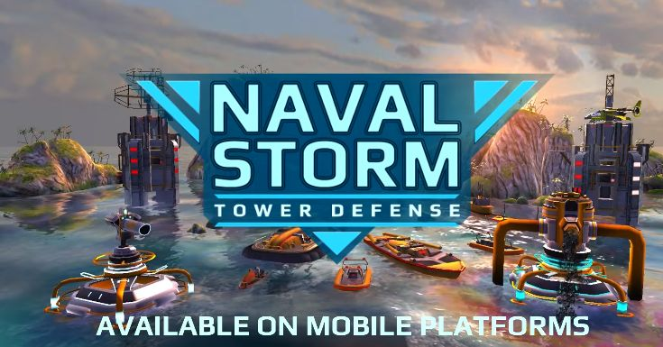 Naval Storm TD v0.9 Mod Apk Offline Terbaru